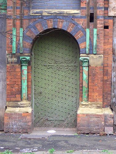 Drzwi w Manchesterze przy Foundry Lane #Door, Foundry Lane, #Manchester - UK