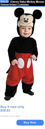 halloween costumes kids disney baby mickey mouse deluxe infant costume buy it now only - Baby Mickey Mouse Halloween Costume