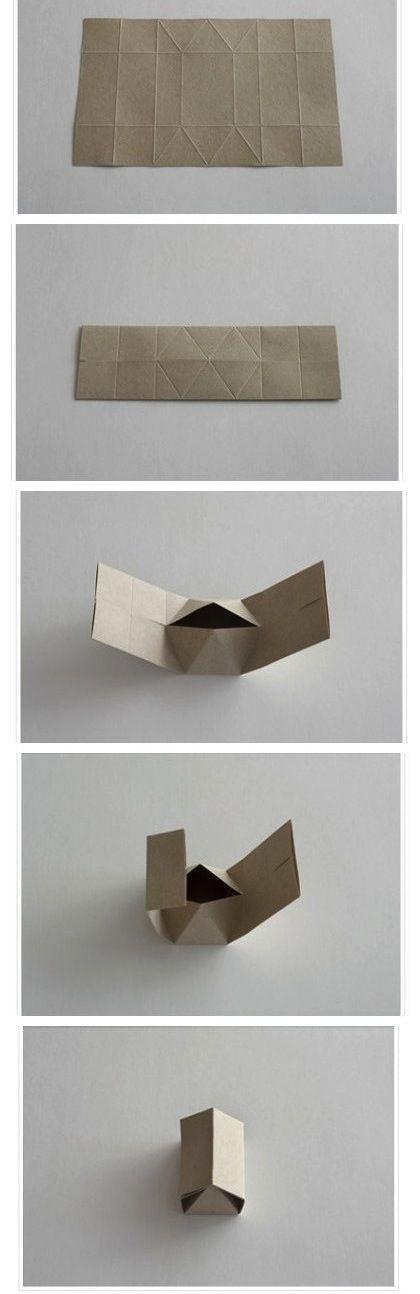 Jam DIY gift box very cute handmade paper house
