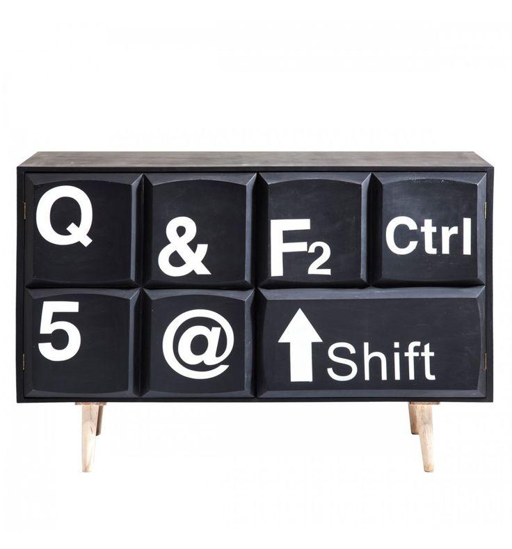Comò Keyboard 2 Ante Kare Design