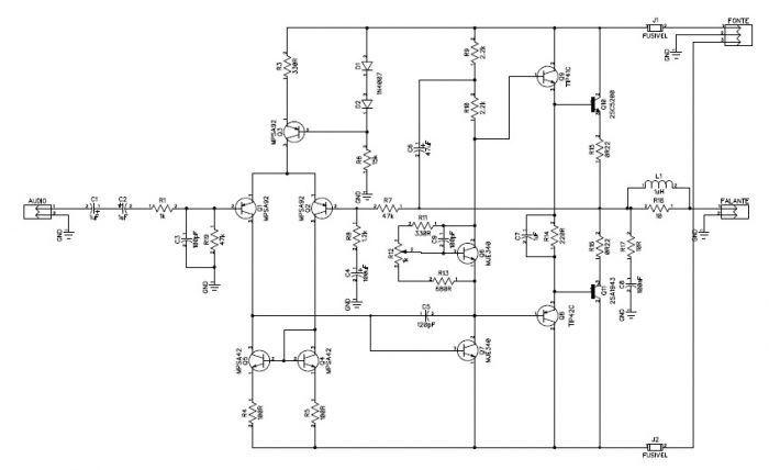 Superstrong Amplificador 100w Rms De Baixa Distorcao Com