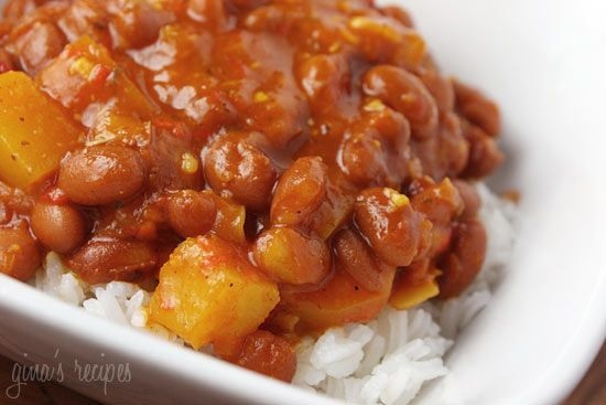 Puerto Rican Style Beans - you can have this ready and on the table in less than 20 minutes.
