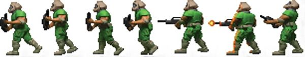 Unnamed marine - Doomguy - The DooM Marine - Character Profile