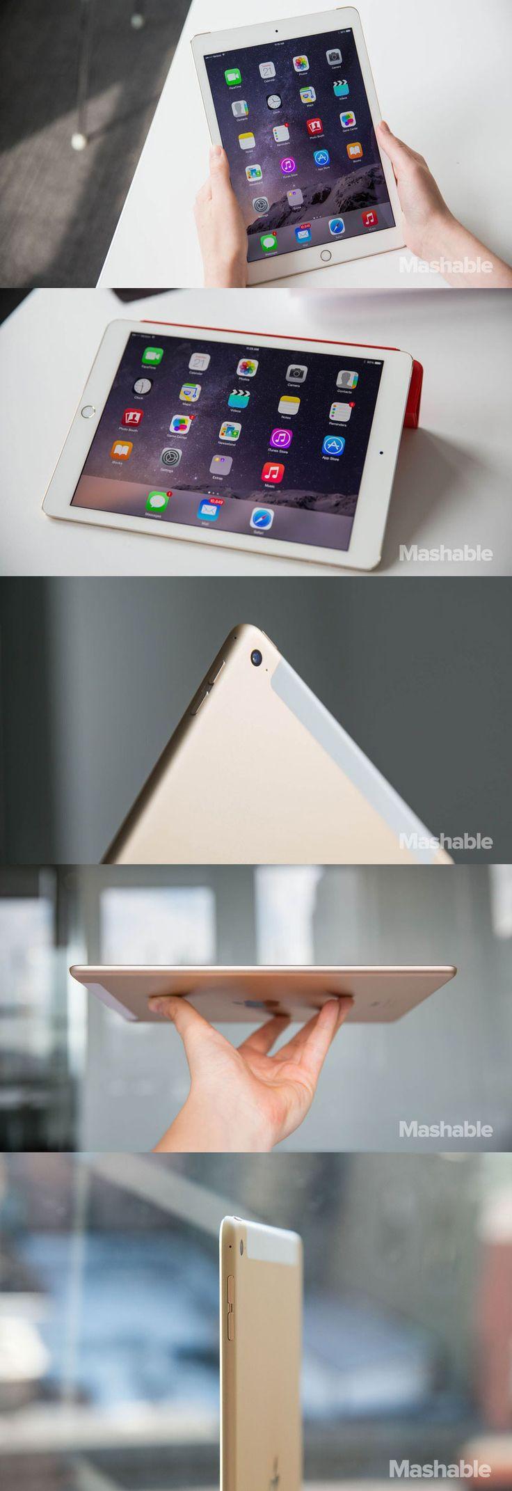 The Apple iPad Air 2.