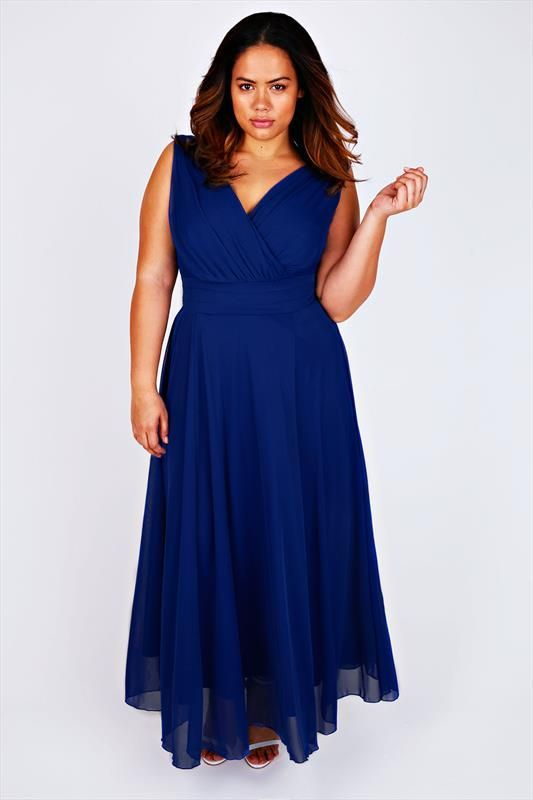 robe longue grande taille habillee