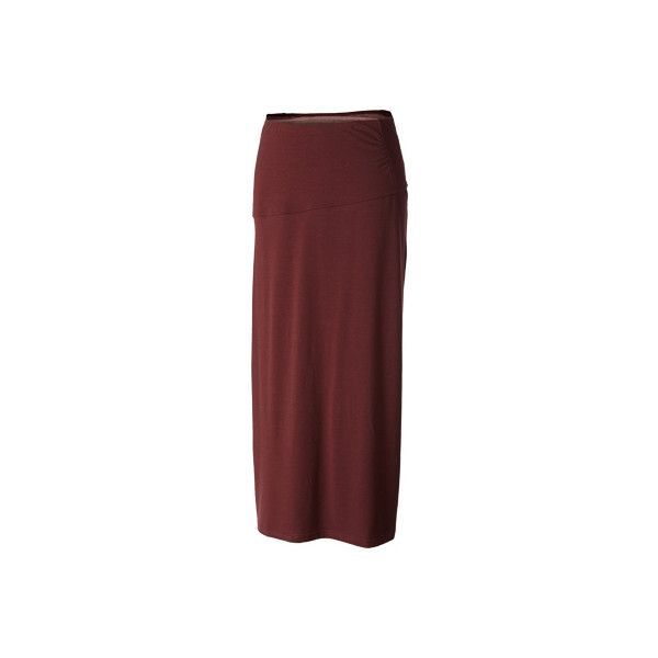 Women's Royal Robbins Essential Tencel Maxi Skirt ($74) ❤ liked on Polyvore featuring skirts, purple, asymmetrical long skirt, long red maxi skirt, maxi skirts, long ruched skirt and long purple maxi skirt