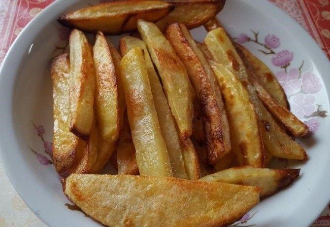Sütőben sült sült-krumpli