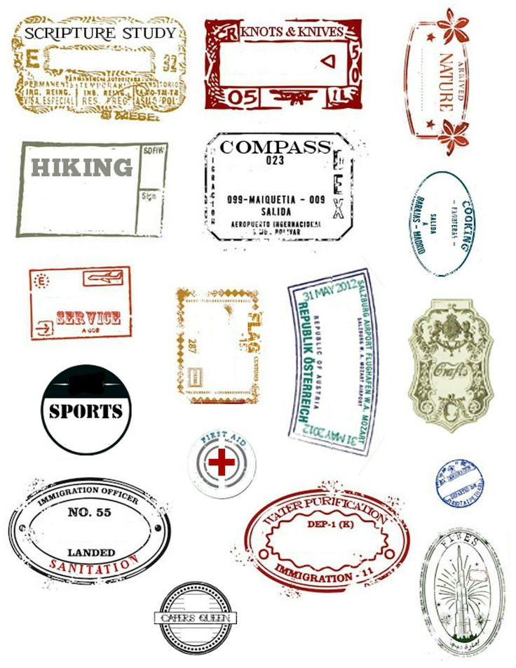 FREE Printable Passport Activity for 30 Countries