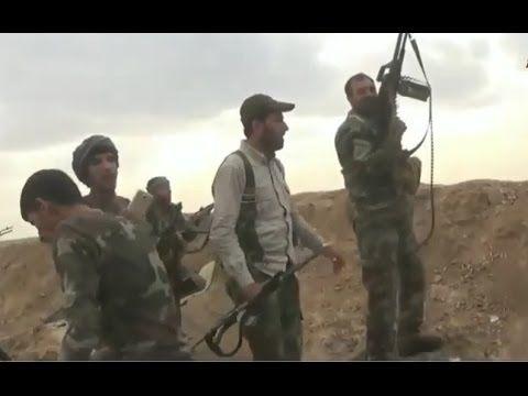Guerra contra o ISIS no Iraque - Forças iraquianas repelem ataque dos ji...