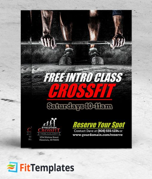 48 best fitness flyer ideas images on pinterest