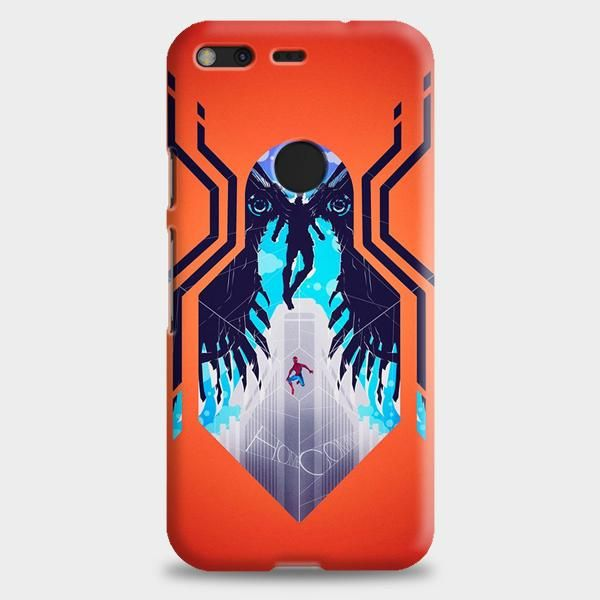 Spiderman Movie Illustration Google Pixel Case | casescraft