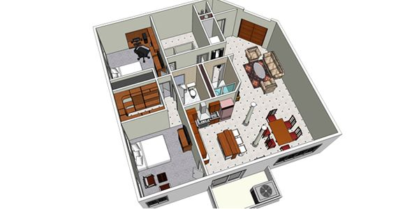 17 best images about sketchup presentations on pinterest the o 39 jays the floor and home exteriors for How to design a floor plan in sketchup
