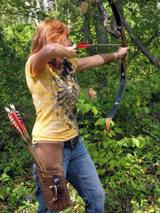 I started with a compound bow, id like to experience this feel -- Recurve.  Better than compound because there are hardly any moving parts.