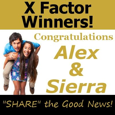 UCF students Alex Kinsey and Sierra Deaton, both 22, have won the Fox TV show 'The X-Factor