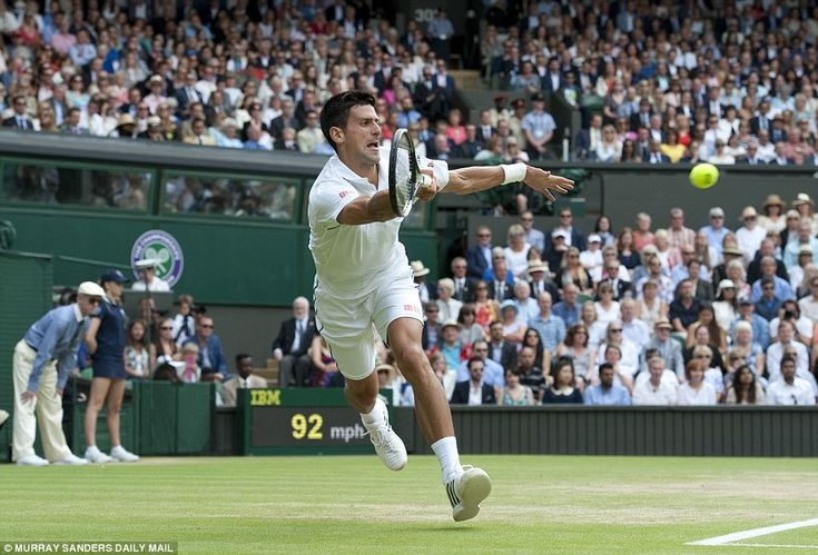 And the 28-year-old was soon back on the defensive as he managed to save two Federer set points to take the opening set into a tiebreak