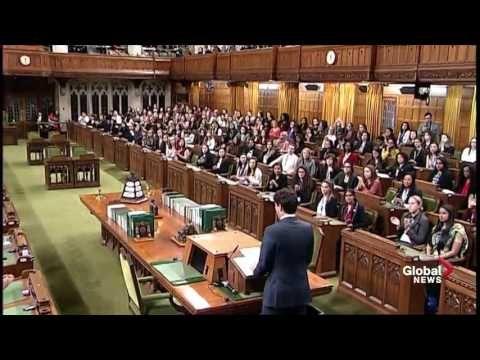 Prime Minister Justin Trudeau full speech on International Women's Day