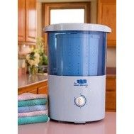 Mini Countertop Spin Dryer - I use a salad spinner when I'm blocking knits now, this would be such an upgrade!