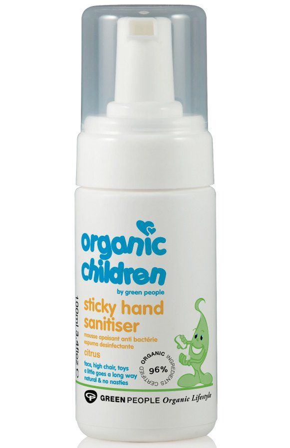 Green People Children S Sticky Hand Sanitiser 100ml Hand
