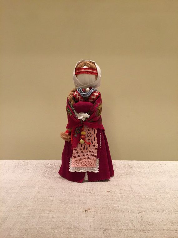 Exclusive Doll-Amulet Handmade by karinaartgallery on Etsy