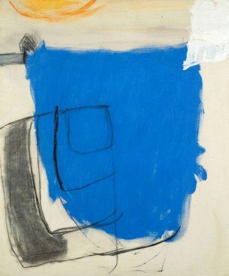 OCTOBER 1960 (BLUE) Roger Hilton