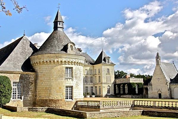 Le chateau de Montgeoffroy en Anjou, architecture et décoration - Le blog de haute.decoration.over-blog.com