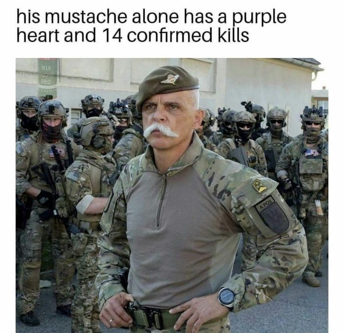 Not American... but that mustache