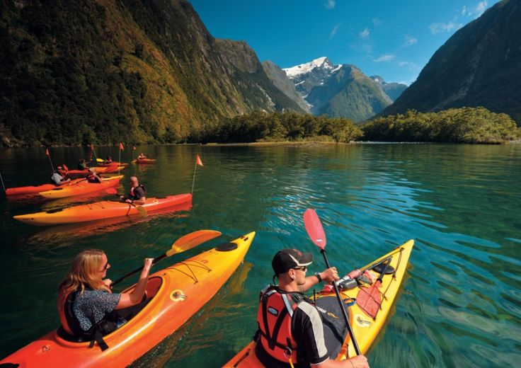 Trovolo - Cruise & Kayak Milford Sound - Southern Discoveries