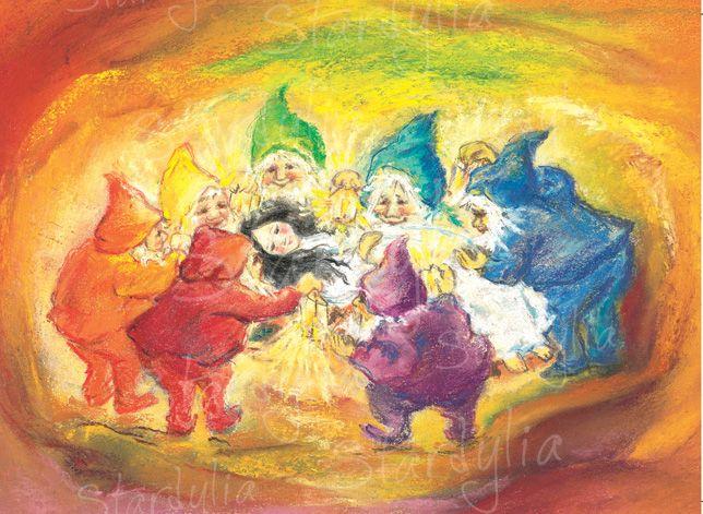Snow White and the Seven Dwarfs illus. by Marjan van Zeyl