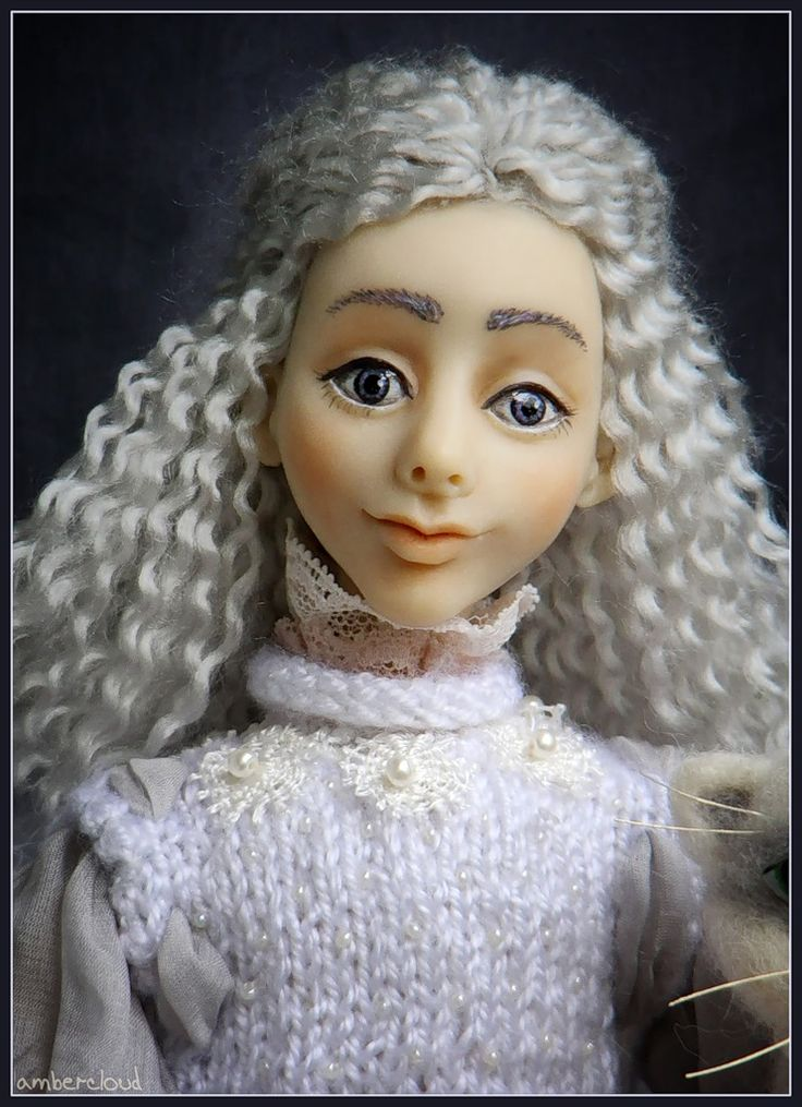 Звёздный Ангел *** doll, dollart, hand made, ©ambercloud, авторская кукла