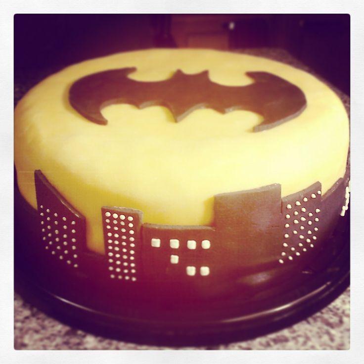 Batman Cake Pastel De Batman Cakes Pinterest