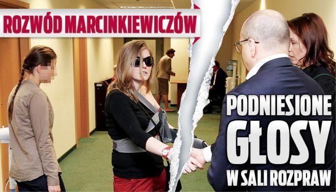 Rozwód Marcinkiewiczów. Podniesione głosy w sali rozpraw.