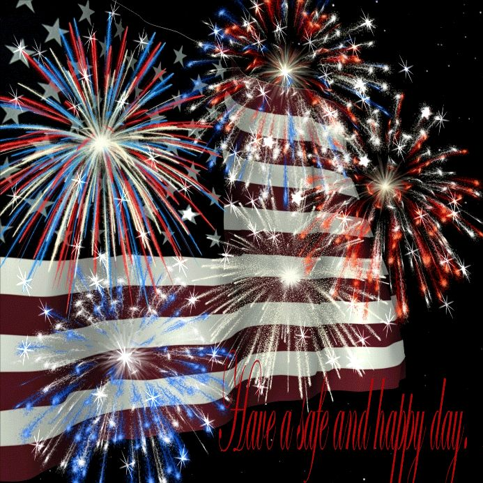 To all my fellow pinners and followers I wish you a safe and happy 4th of July. God bless.