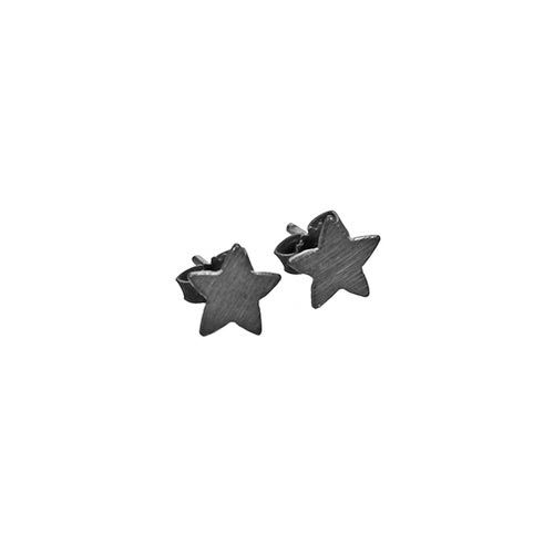 Pernille Corydon, Small Star Øreringe, Oxyderet