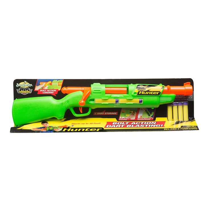 Air Warriors Hunter Blaster by Buzz Bee, Multicolor