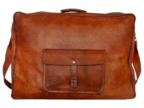 Koffert / suitcase / veske / skinn / leather goods / Hubble fra www.lyle-d.com