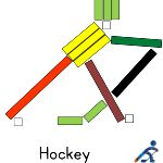 FREE PRINTABLES: Cuisenaire Rods of the Olympics Winter Sports.