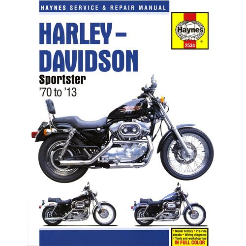 Haynes Manual Harley Xl1200 Sportster Custom 1997 99 Harley Davidson Sportster 1200 Custom Sportster Harley Davidson Sportster