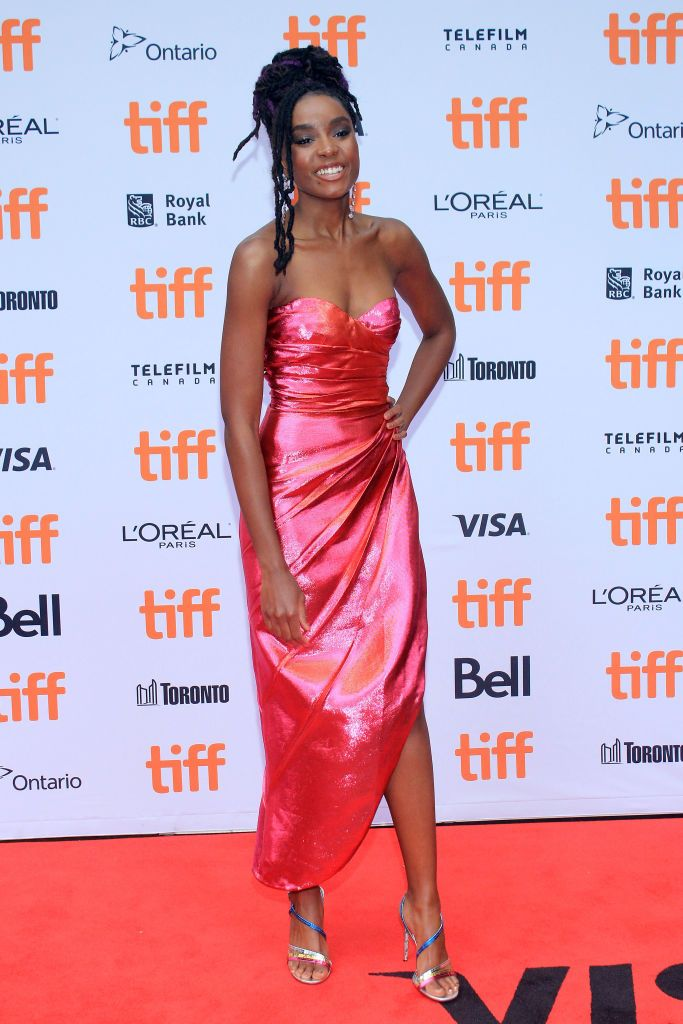 Kiki Layne Attends The 2018 Toronto International Film Festival International Film Festival Film Festival Strapless Dress Formal