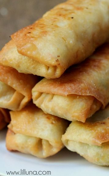Fried Eggrolls Recipe ~ requires few igredients and are easy to make