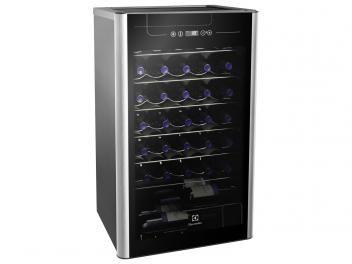 Adega Climatizada Electrolux 34 Garrafas ACS34 - com Compressor e Painel Touch Control