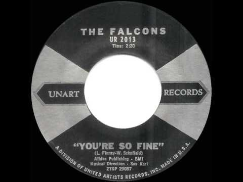 1959 HITS ARCHIVE: *You're So Fine* - Falcons - YouTube