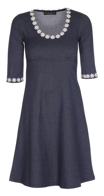 Yvonne dress-Denim - Kjoler - Tøj – MANIA Copenhagen