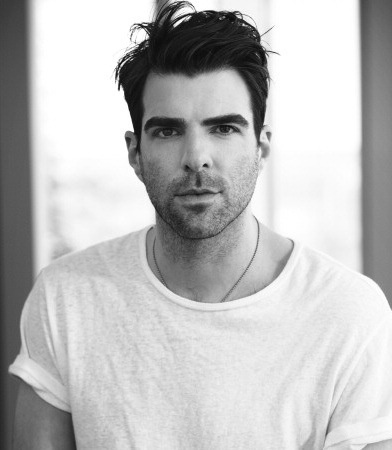 Zachary Quinto. *sigh* Even though you prefer boys, a girl can dream......