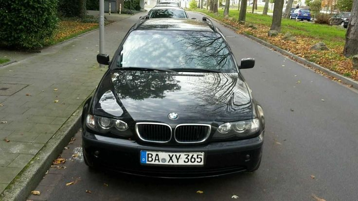 BMW 318i Touring Schwarz   Check more at https://0nlineshop.de/bmw-318i-touring-schwarz/