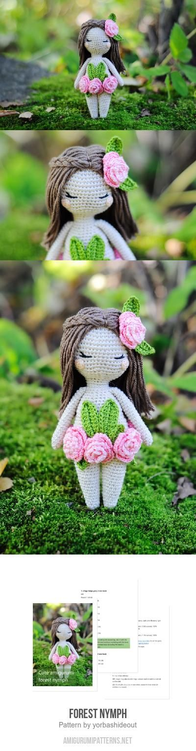 Forest Nymph Amigurumi Pattern