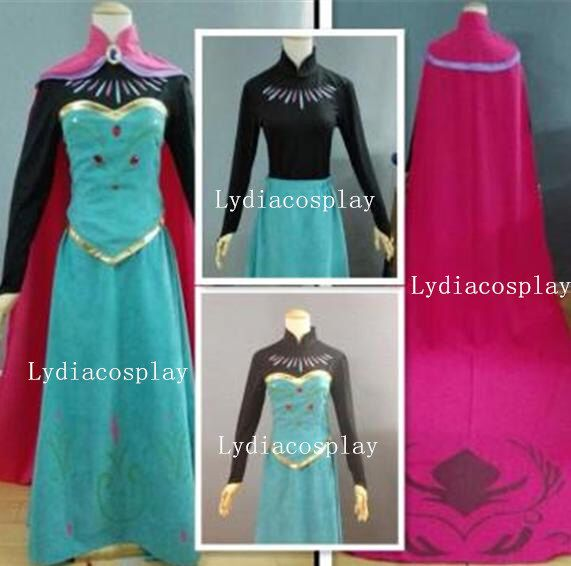 Handmade - Elsa Coronation Dress, Elsa Dress, Elsa Coronation Costume, Elsa Coronation Dress Adult/kid, Elsa Costume Adult/Kid by LydiaCosplay on Etsy https://www.etsy.com/listing/214731802/handmade-elsa-coronation-dress-elsa