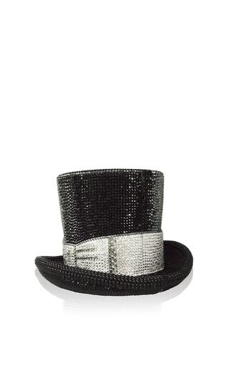 Top hat clutch by JUDITH LEIBER for Preorder on Moda Operandi