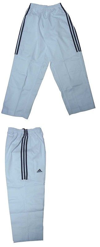 Pants 179772: Adidas 3-Striped Taekwondo Training Pants - Dobok - Uniform -> BUY IT NOW ONLY: $46.75 on eBay!