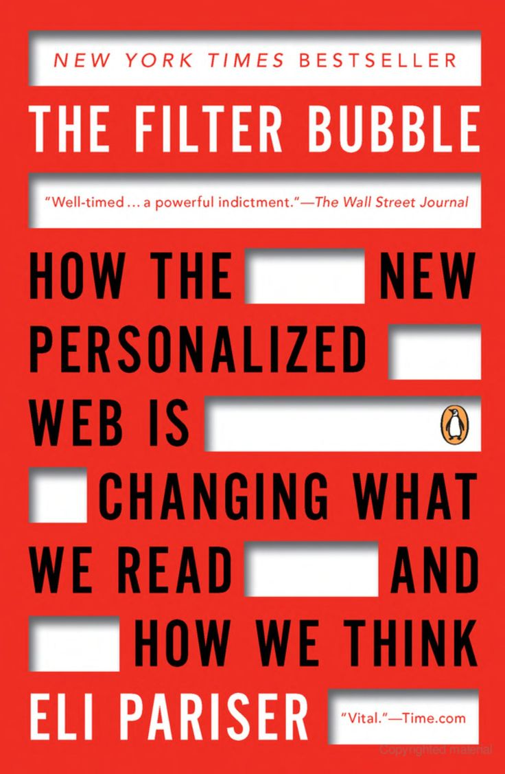 73 best journalism images on pinterest the filter bubble how the new personalized web is changing what we read and how fandeluxe Gallery