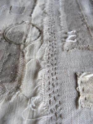 Contemporary textiles and mixed media by Gizella K Warburton